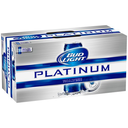 Bud Light Platinum Beer, 18 Pack, 12 Fl Oz   Walmart.com