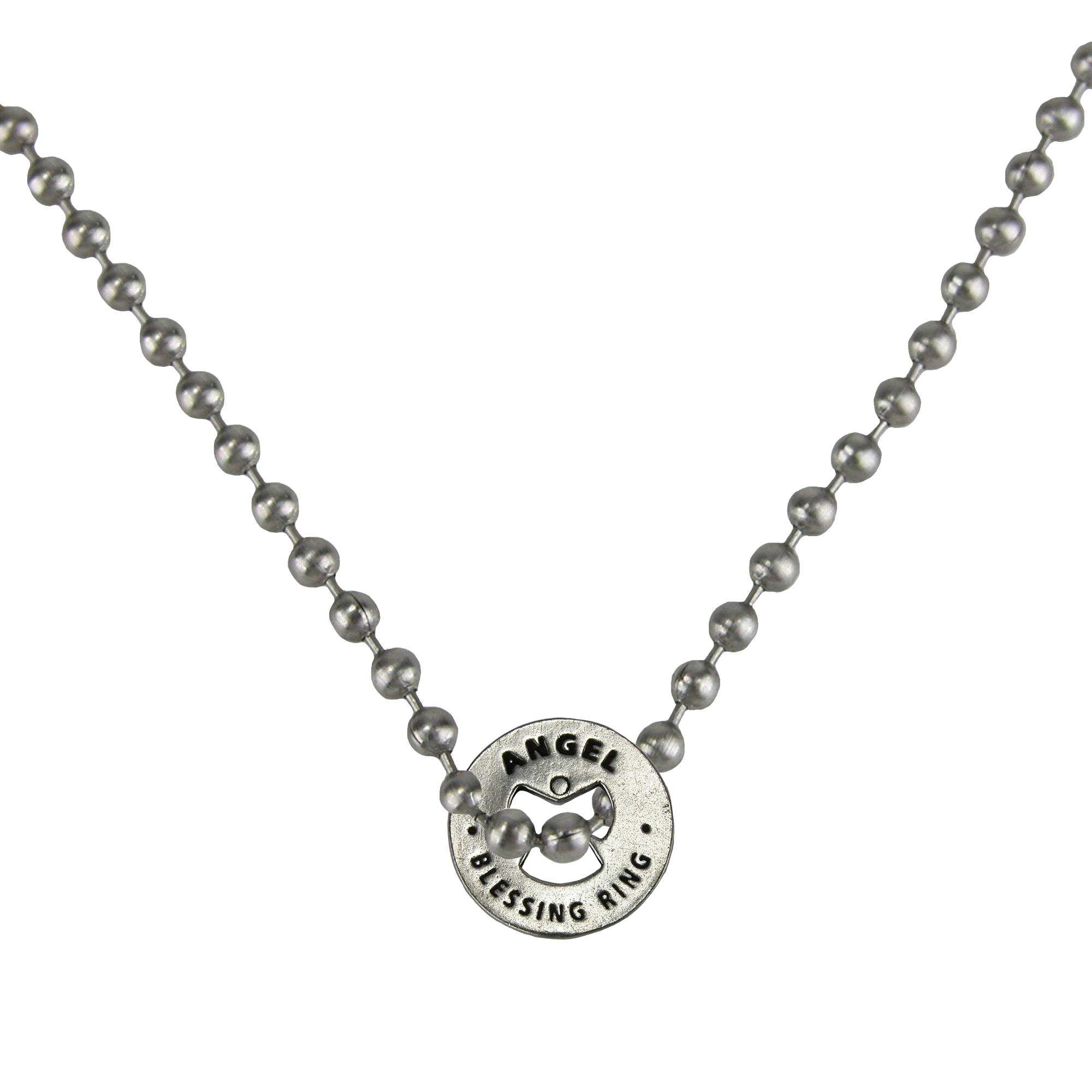 Whitney Howard Designs Angel Blessing Protection Pendant Chain Necklace
