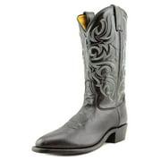 Tony Lama El Paso Men B Pointed Toe Leather Black Western Boot