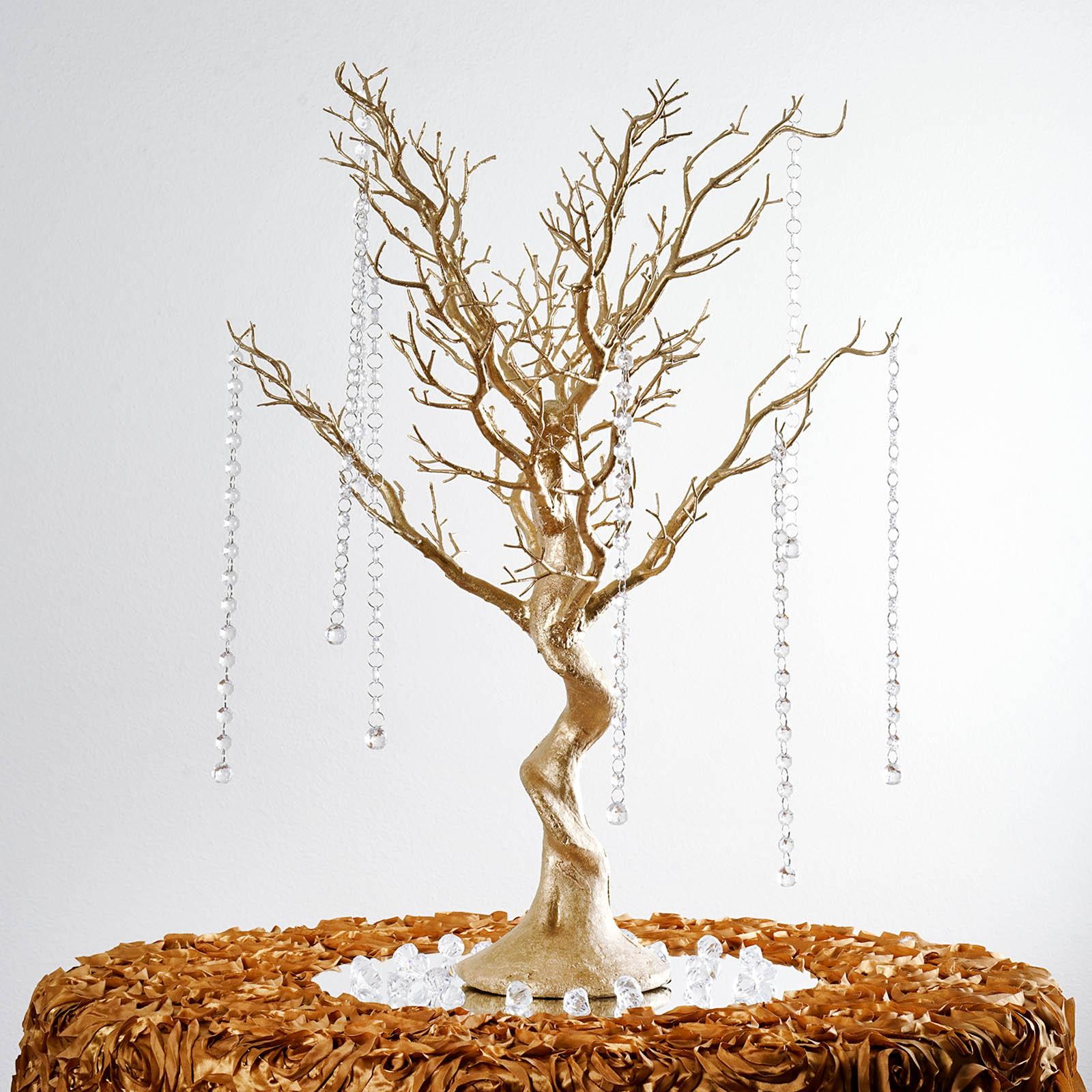 """BalsaCircle 30"""" Manzanita Tree with Garlands for Wedding ..."""