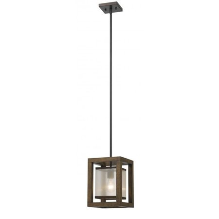 Cal Lighting Cage FX-3536/1P Single Mini (Mission Single Light Mini Pendant)