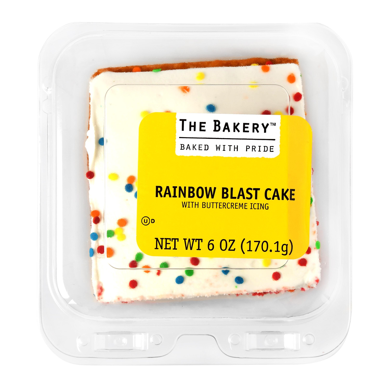 The Bakery Rainbow Blast Cake, 6 oz