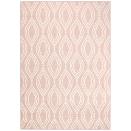 Your Zone Easton Cut Pile Print Dotted Ogee Area Rug or Runner, Multiple Sizes