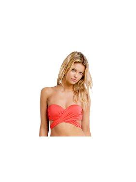 fb71f0082c83c5 Product Image Seafolly Women s Wrap Front Bandeau Bikini Swim Top-US4-Sienna