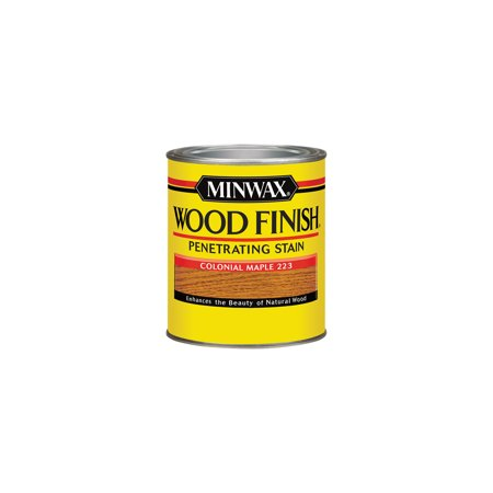 Colonial Iron Finish (Minwax® Wood Finish™ Colonial Maple, 1-Qt )