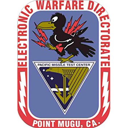 MAGNET US Navy Electronic Warfare Directorate Point Mugu California Decal Magnetic Sticker 5.5