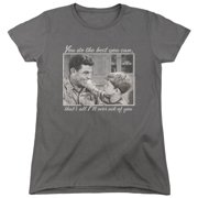 Andy Griffith Wise Words Womens Short Sleeve Shirt