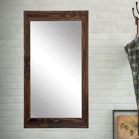 BrandtWorks Designers Choice Wall Mirror - Rustic Espresso