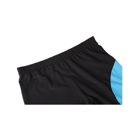 Men Compression Lightweight Athletic Sport Training Tights Turquoise M - image 3 of 5