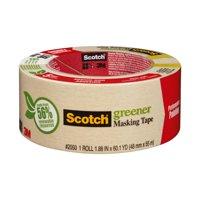 Scotch General Purpose Masking Tape, 1.88 in x 60.1 yd, 1 Roll/Pack