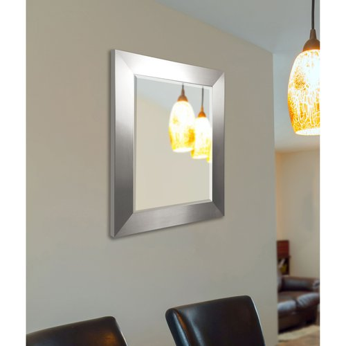 Rayne Mirrors Silver Wide Wall Mirror