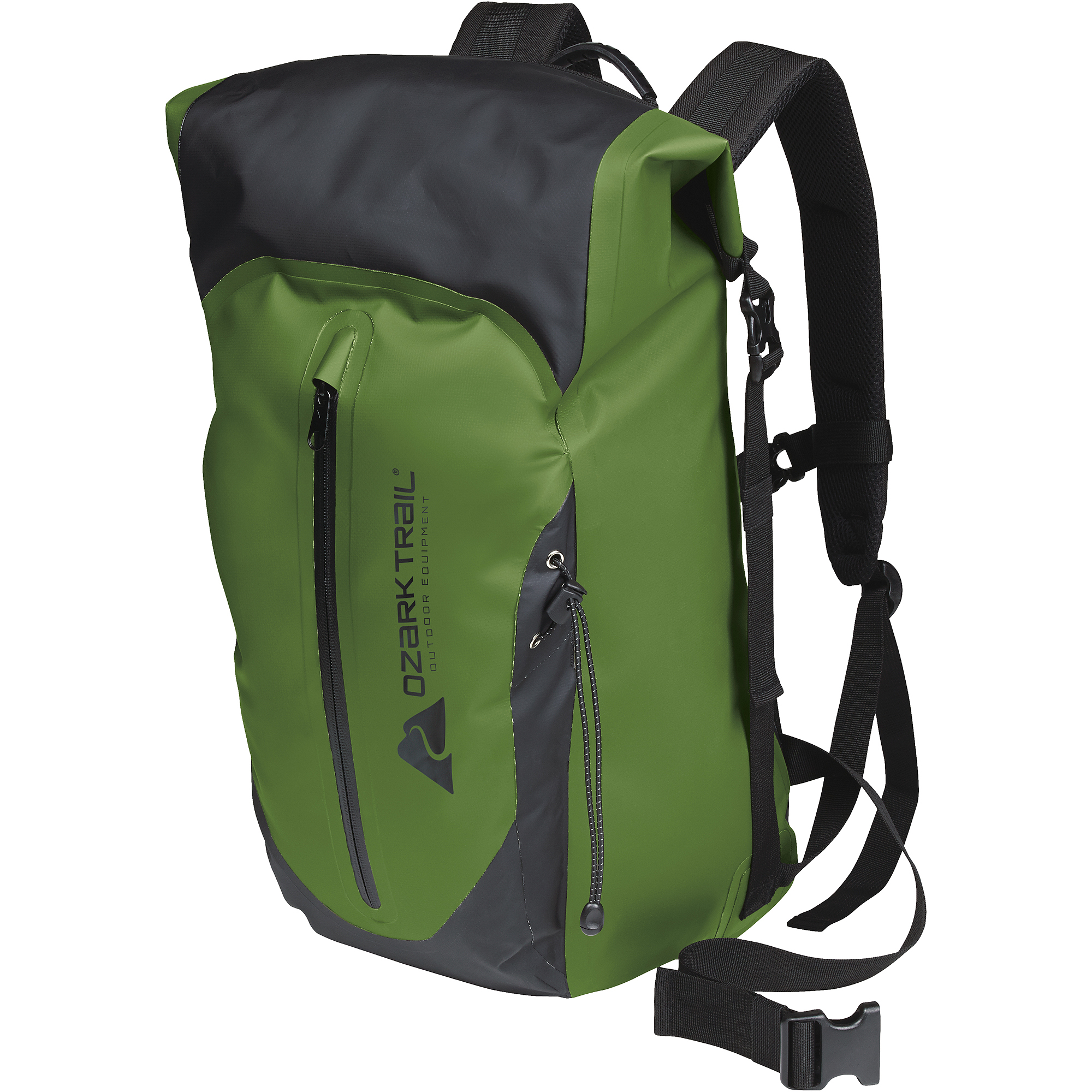 Ozark Trail 40L Waterproof Roll-Top Drybag Backpack - Walmart.com