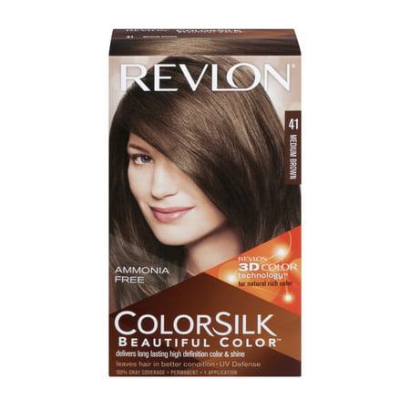 Revlon Colorsilk Beautiful Color Permanent 41 Medium Brown