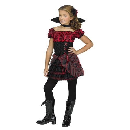 La Vampira Child Costume - La Boardwalk Halloween