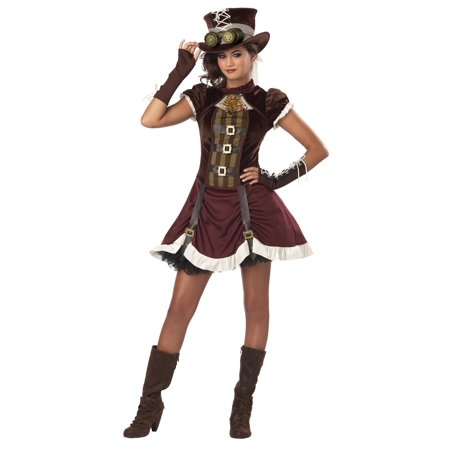 Tween Steampunk Girl Costume - Steampunk Girls Costume