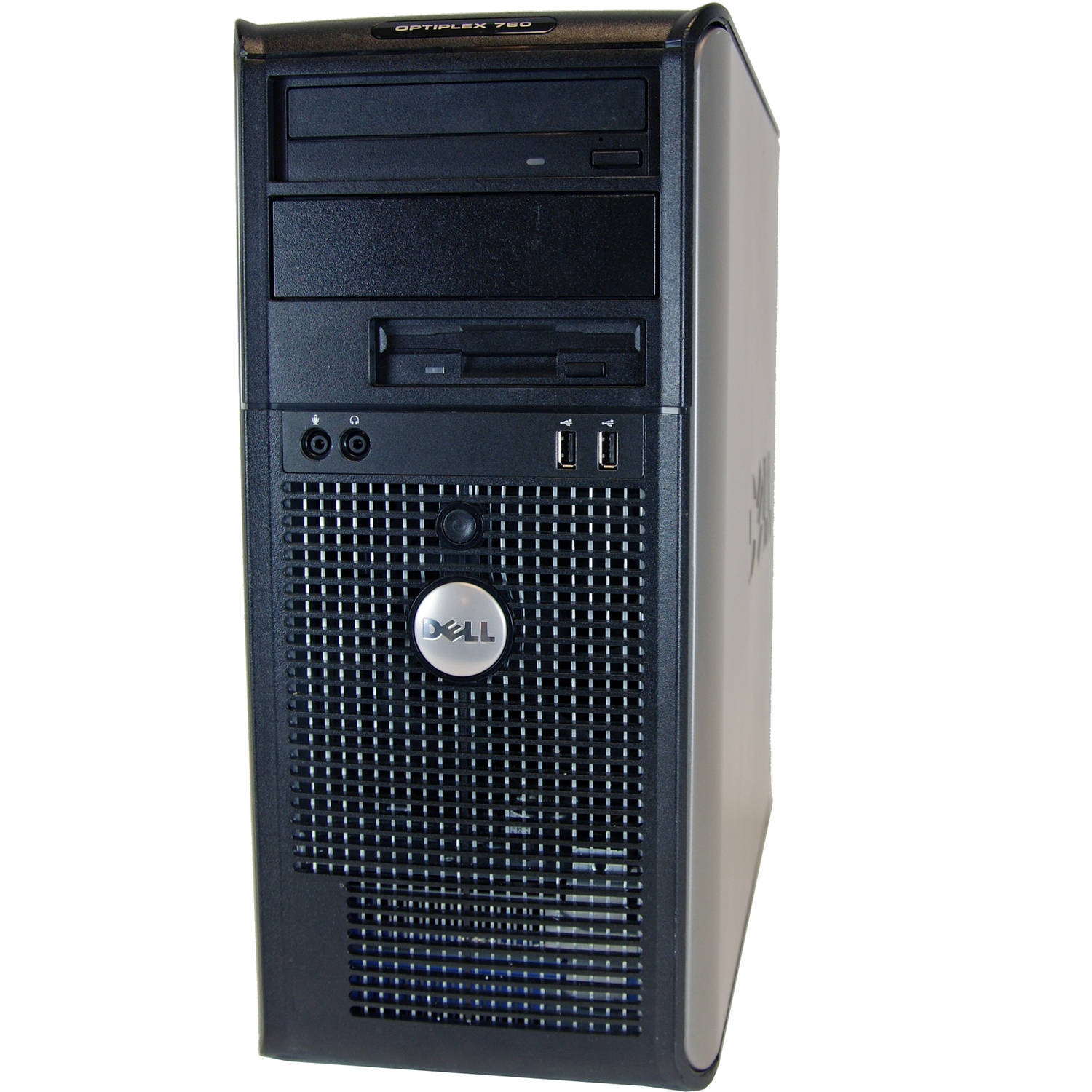Refurbished Dell 760 Mini Tower Desktop PC with Intel Core 2 Duo Processor, 4GB Memory, 750GB Hard Drive and Windows 10 Home (Monitor Not Included)
