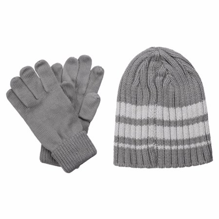 Altima Glove Box (Isotoner Men's Ribbed Knit Hat & Glove Gift Box Set)