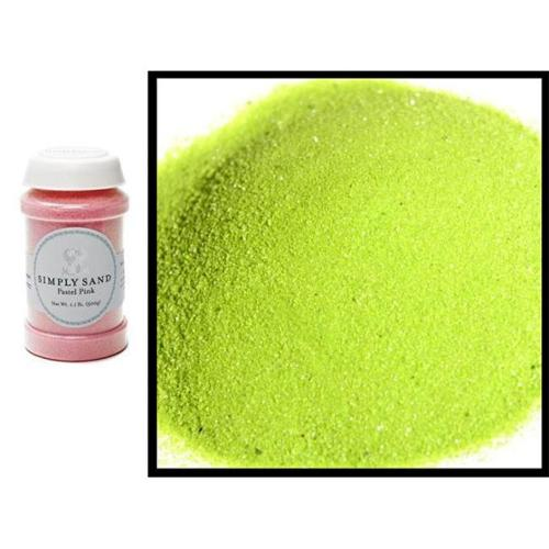 Apple Green Crystalline Quartz Sand
