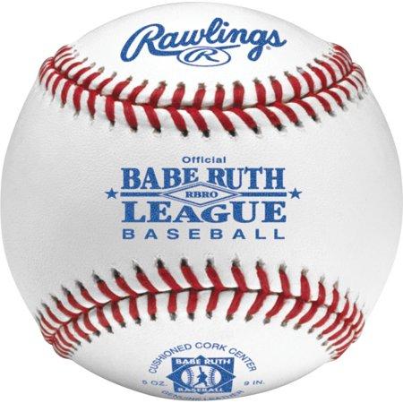 American League Official Baseball - Rawlings RBRO Babe Ruth League Tournament Grade Baseballs (Dozen)