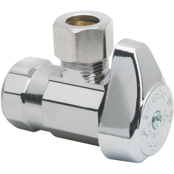 FIP X Compression Quarter Turn Shut Off Angle Valve