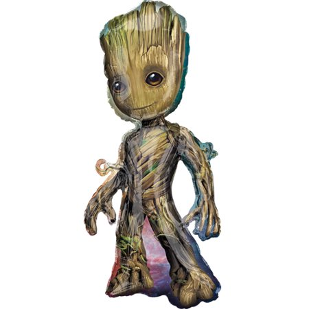 Guardians of the Galaxy Baby Groot Supershape Foil Mylar Balloon (1ct)](Types Of Balloons)