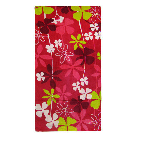 Textiles Plus Inc. Big Clover Beach Towel