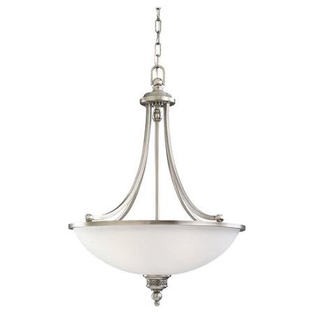Laurel Leaf 1 Light Pendant (Sea Gull Lighting 65351 Laurel leaf 3 Light Bowl Shaped)