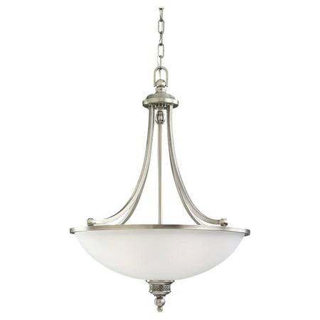Laurel Leaf 1 Light Pendant (Sea Gull Lighting 65351 Laurel leaf 3 Light Bowl Shaped)