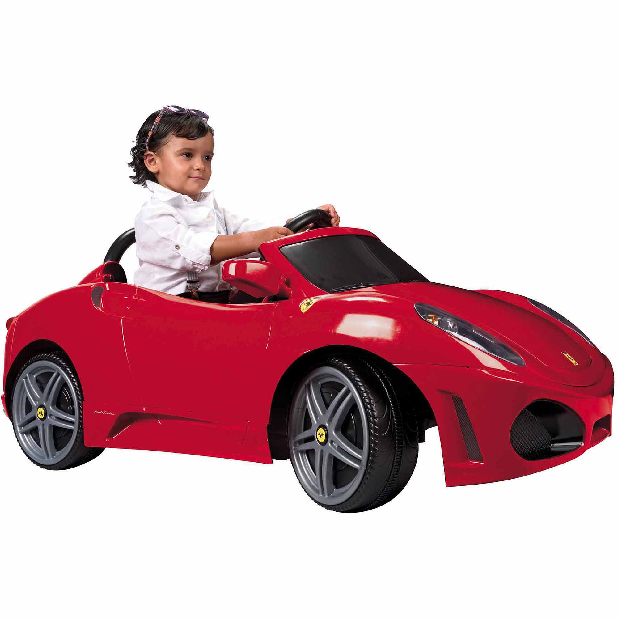 Ferrari F430 6-Volt Battery-Powered Ride-On, Cherry Red