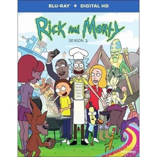 Rick And Morty: Season 2 (Blu-ray) TRNBRT593211