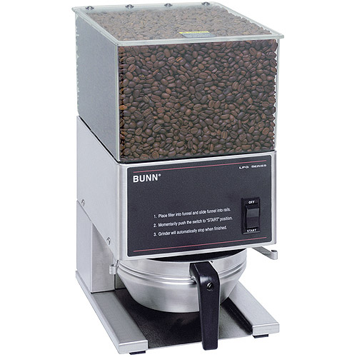 BUNN LPG, Low Profile Portion Control Commercial Coffee Grinder with 1 Hopper, 20580.0001 by Generic