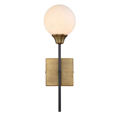 Nicollet Oiled Rubbed Bronze 19-Inch One-Light Wall Sconce ()