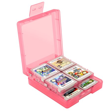 Insten For Nintendo NEW 3DS / DS / DS Lite / DSi / DSi LL / XL Game Card Case 16-in-1, Light Coral - image 4 de 10