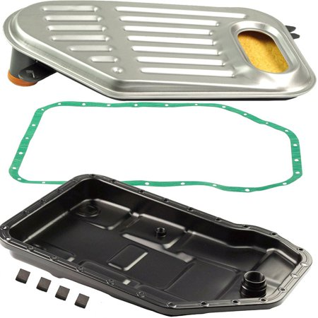 Bapmic Auto Transmission Oil Pan + Filter + Gasket Kit for Volkswagen Passat  Audi A4 A6 A8 ()