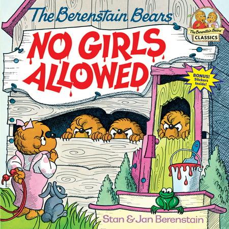 Berenstain Bears No Girls Allowed (Paperback)