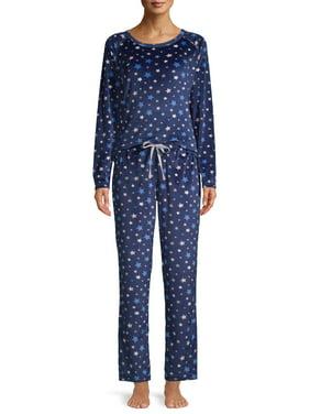 EV1 from Ellen DeGeneres Multi Star Velour Pajama Pant Set Women's