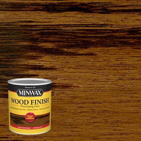 Minwax Wood Finish, Espresso, 1 Quart Espresso Lacquer Finish
