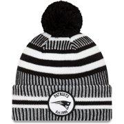 New England Patriots New Era 2019 NFL Sideline Home Sport Knit Hat - Black - OSFA