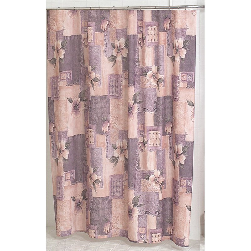 carnation home fashions magnolia pink and purple victorian fabric