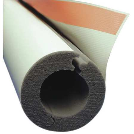 "TECHLITE INSULATION 2-1/8"" x 4 ft. Melamine Foam Pipe Insulation 1"" Wall, 0379-0200CT100-PF-0930-02"