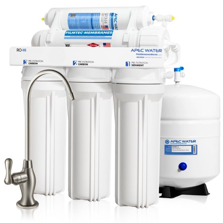 APEC Top Tier Fast Flow High Output 90 GPD Ultra Safe Reverse Osmosis Drinking Water Filter System (ULTIMATE