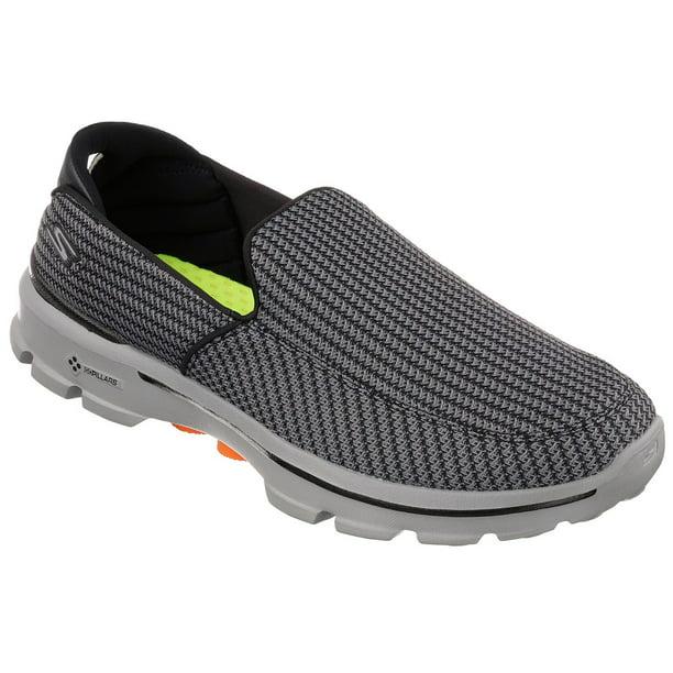 champú industria Estacionario  Skechers - Skechers Men's Go Walk 3 Slip-On Walking Shoe - Walmart.com -  Walmart.com