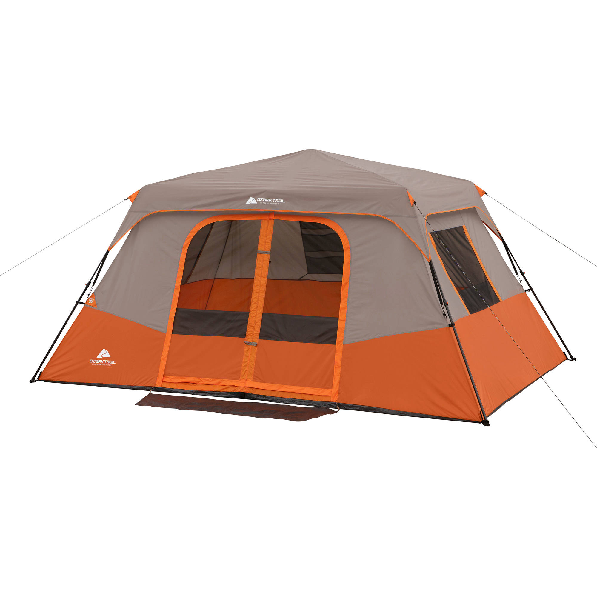 Ozark Trail Instant 13u0027 x 9u0027 Cabin C&ing Tent Sleeps 8  sc 1 st  Walmart : 8 person pop up tent - memphite.com