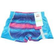 Skechers Active Girls Size 5-6 Mesh Splatter Athletic Shorts, Blue/Pink/Purple
