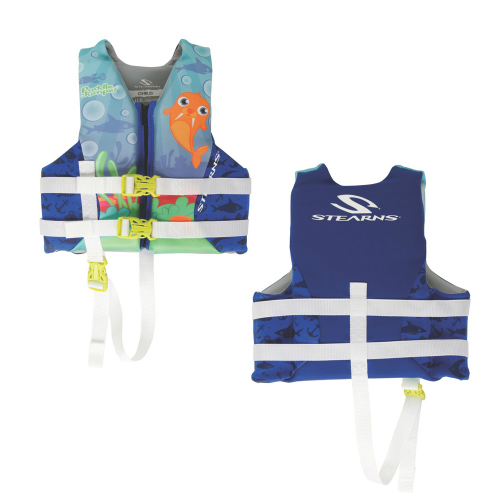 Stearns Puddle Jumper Child Hydroprene Life Jacket Walrus Child Vest by Stearns
