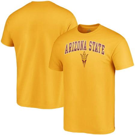 Arizona State Sun Devils Fanatics Branded Campus T-Shirt - Gold Ncaa Arizona State University