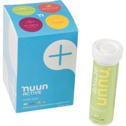 Nuun Active Hydration Tablets: Original Mixed Pack, Box of 4 Tubes