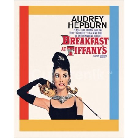 Audrey Hepburn - Breakfast At Tiffanys One Sheet Poster Poster Print