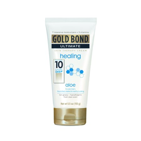 Skin Therapy Cream - Gold Bond Ultimate Healing Skin Therapy Cream, Aloe 5.5 fl oz