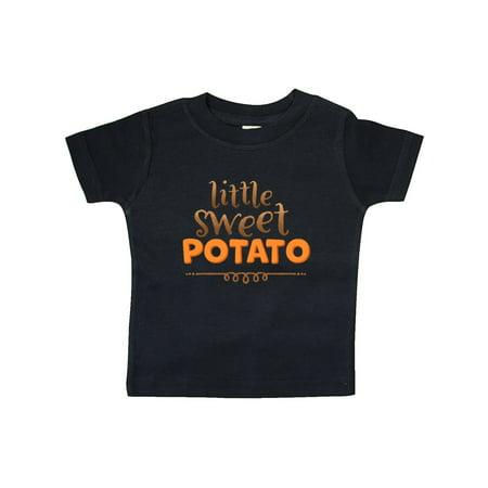 Thanksgiving Little Sweet Potato Baby T-Shirt (Little Bitz Sweet Potato)
